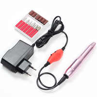 A4 2019 Apparatus for Manicure Nail Drill Manicure Electric Nail File Drill Bits Tools Sets