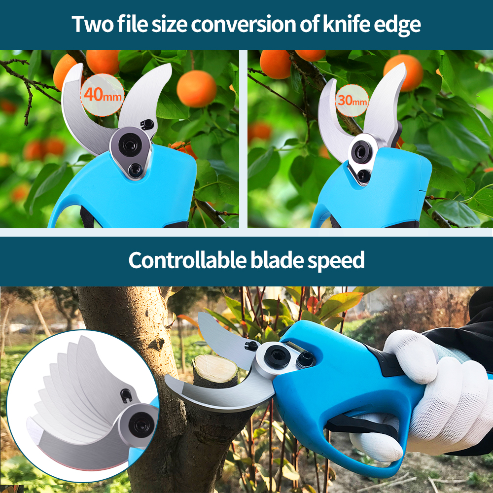 Fruit Lithium Tree Pruning Tools Bonsai Electric Tree Garden SWANSOFT Efficient Cordless Shear Pruner Electric Ion 21V Branches