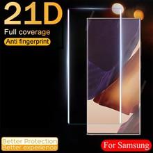 Защитная пленка из закаленного стекла для Samsung Galaxy Note20 S20 S21 ультра S10 S9 S8 Plus протектор экрана из закаленного стекла Note S 20 21 10 9 8 S10E плюс 5G пленк...