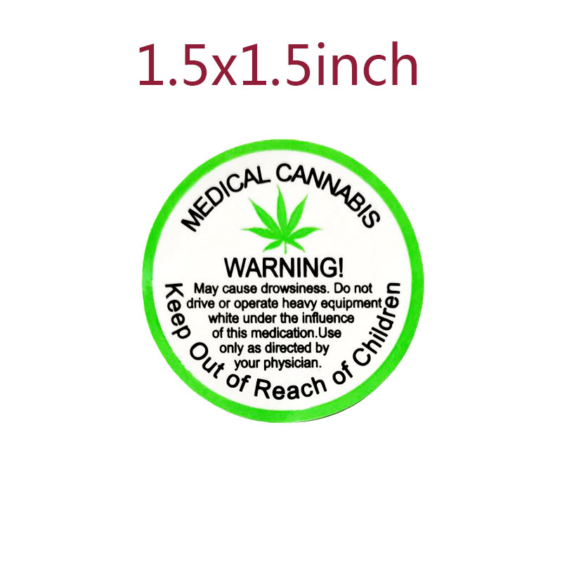 Image 2 - 2020 New Trend 1.5 inch 500 PCs/roll Warning Stickers Adhesive Labels medical Warning Label  for Warning and IndicationWallpapers   -