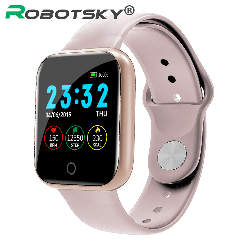 2019 Hot Sale I5 Smart Watch Waterproof Heart Rate Monitor Fitness Tracker Pedometer Call Reminder Sport Watch For Honor Huawei
