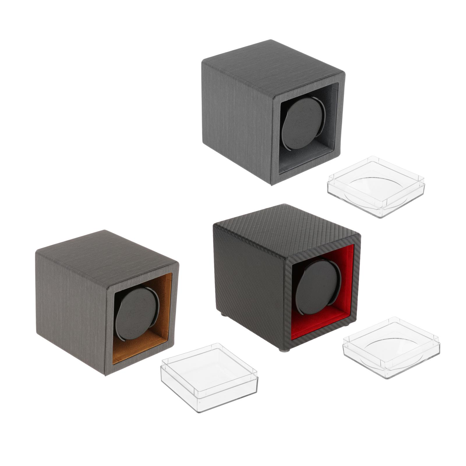 1 PCS Automatic Watches Automatic Watch Winder Display Box Collector Clock Accessories Electric Vertical Shaker AC Adapter Modes