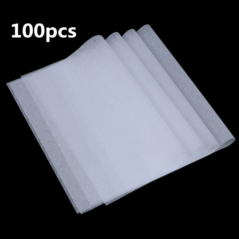 100pcs Translucent Tracing Paperfor Patterns Calligraphy Craft Writing Copying Drawing Sheet Paper Office Supplies 270*190mm