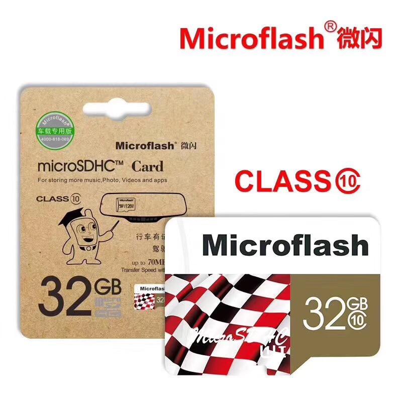 Microflash de Alta velocidade Cartão Micro SD Cartão de Memória carte sd memoria 128GB GB 64 32 Class10 GB 16G SD/8G microSD TF Cartão de Memória Flash