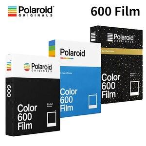 Image 1 - Polaroid Originals Instant 600 Film Color Black White For Onestep2 Plus Instax Camera SLR680 636 637 640 660Autofocus Impossible