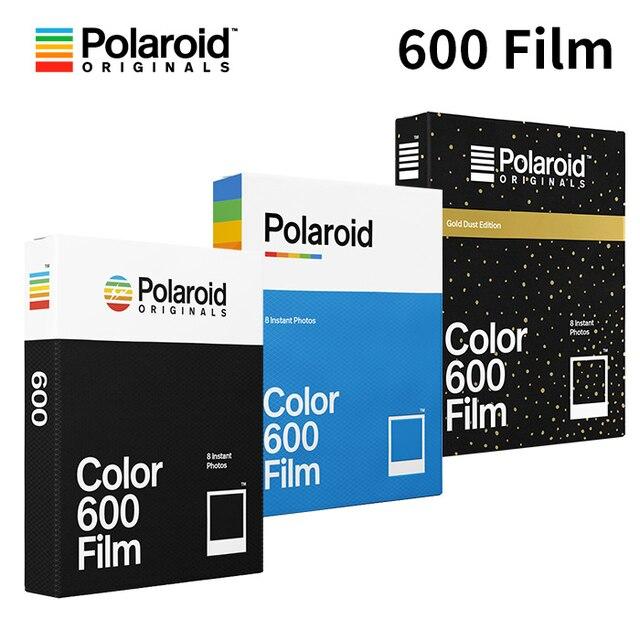 Polaroid Originals Instant 600 Film Color Black White For Onestep2 Plus Instax Camera SLR680 636 637 640 660Autofocus Impossible