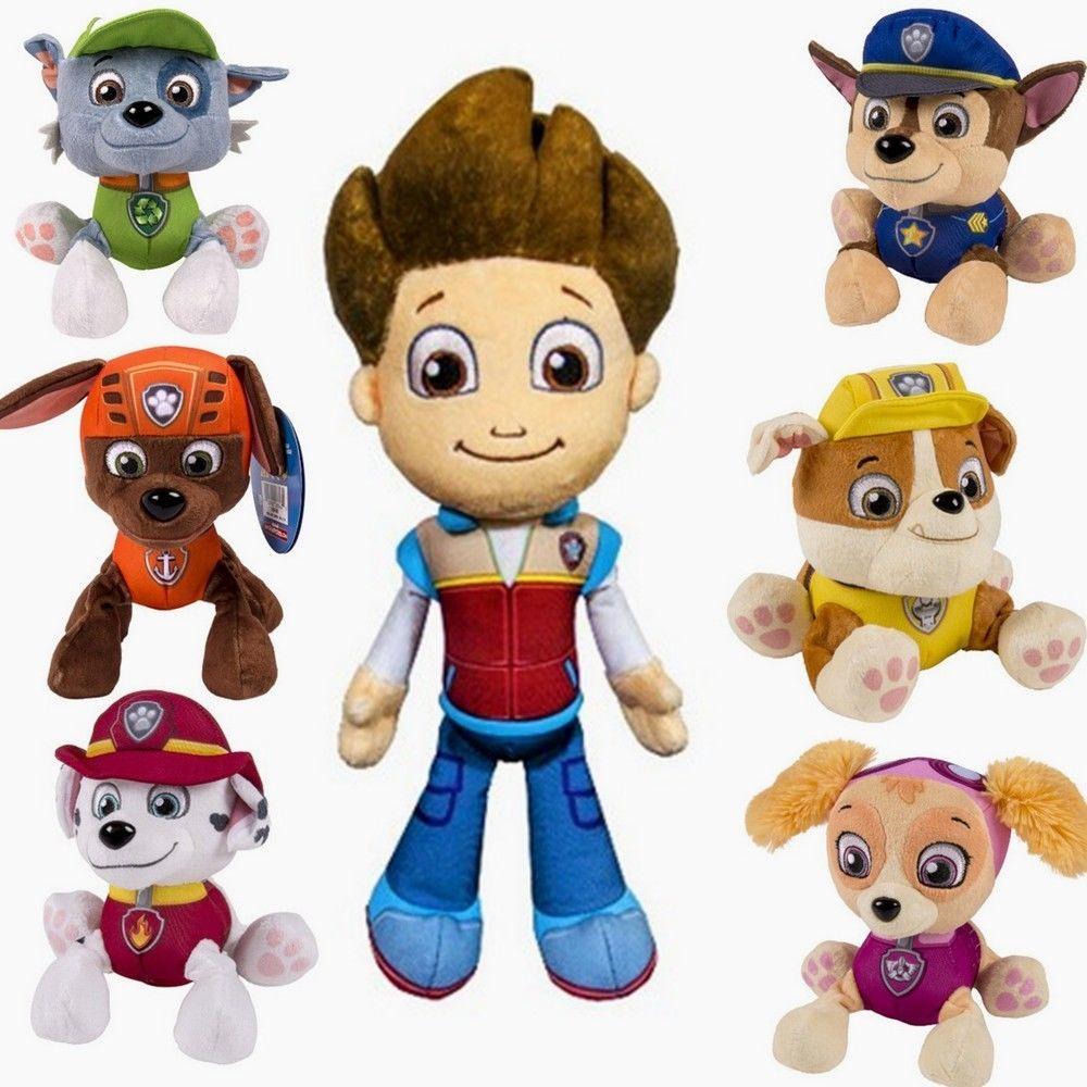 7 шт./лот juguetes детские игрушки в форме лапы « патруль» игрушечные щенки патрульные собаки с пластиной фигурки куклы подвижные швы