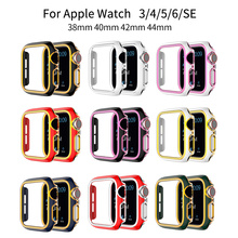 For Apple Watch Case Series 6 SE 5 4 3 2 iWatch Case Accessor 44mm 40mm 42mm 38mm Protector Apple Watch