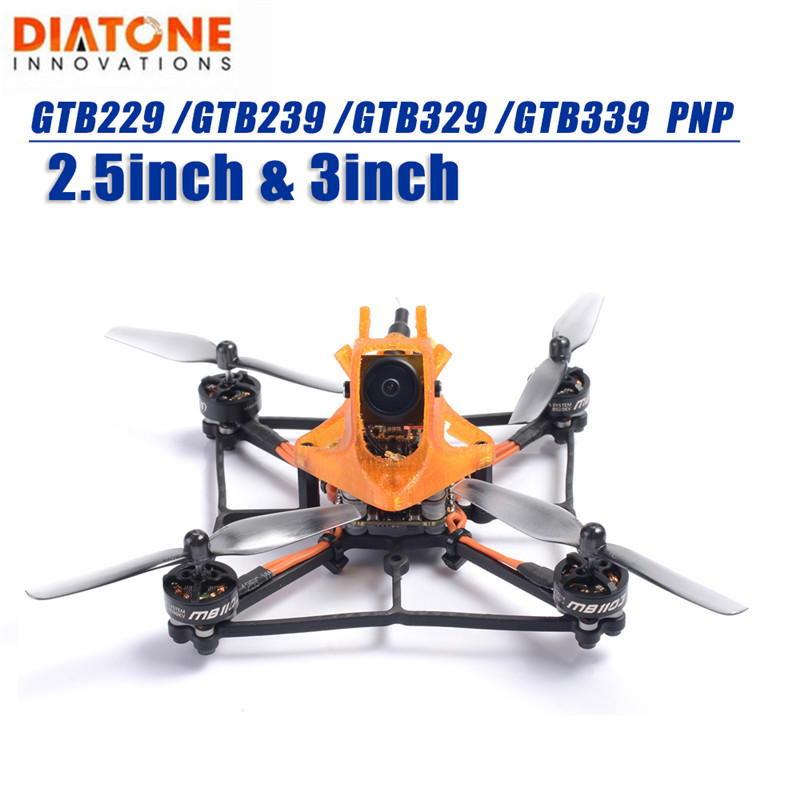 Diatone GTB229 /GTB239 /GTB329 /GTB339 Cube 105mm 120mm 2.5Inch/3Inch 3S BOB Joint Design PNP FPV Racing RC Drone