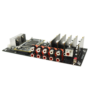 Image 3 - ADSP21489 entwicklung bord DSP teiler ADC PCM1804 Eingang + DAC PCM1798 ausgang 4 in 6/8 heraus prozessor B4 007