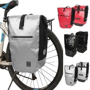 Сумка для заднего сиденья для велосипеда, водонепроницаемая, водонепроницаемая, с креплением на сиденье, новый дизайн