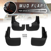 For Lexus RX330 RX350 RX400H 2004 2009 Front Rear Car Mud Flaps Mudflaps Mudguards Splash Guard for Fender Accessories