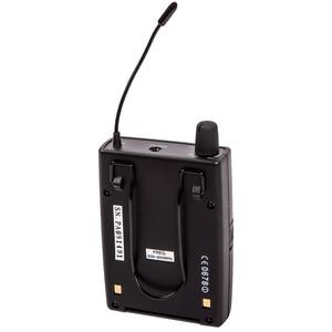 Image 4 - Pasgao PR90 Sistema de monitor intrauditivo estéreo, sistema de monitor inalámbrico, tamaño ligero y pequeño, 655 679MHZ