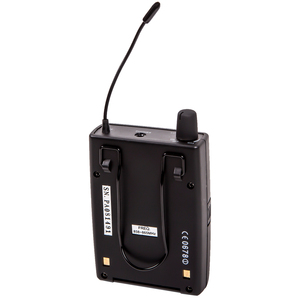 Image 4 - Pasgao PR90  stereo in ear monitor system wireless monitor system lightweight and small size 655 679MHZ