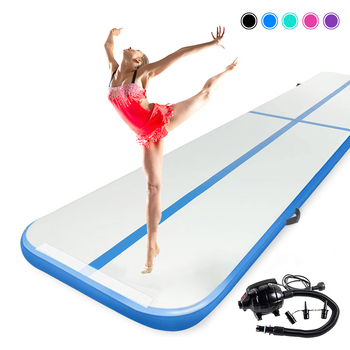 2m 3m 4m Air Track Inflatable Gymnastics Mat 6.5' 9.8' 13' Tumbling Mat Airtrack Home Use Gymnastics Training for Christmas Gift