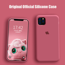 Original Official Silicone Liquid Case For apple ip
