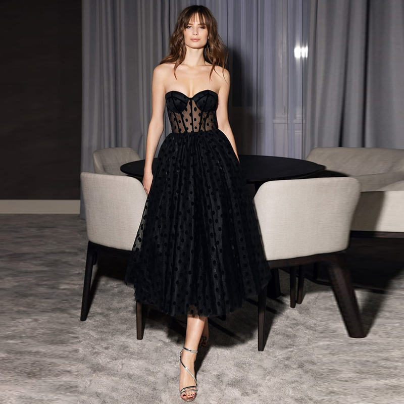 Черное вечернее платье Verngo, короткое вечернее платье с открытой спиной для выпускного вечера 2020, вечерние платья Вечерние платья    АлиЭкспресс