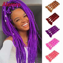 Alororo 24 Inch Crochet Hair High Temperature Wire Synthetic Hair