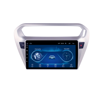 For Peugeot 301 Citroen Elysee 2014-2016 2 din 9 Android 8.1 Car Multimedia player auto stereo radio GPS Navigation WIFI BT 10 25 android car multimedia player for bmw x6 f16 2014 2017 nbt navigation navi gps bt support 4g 3g wifi radio stereo
