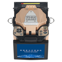 FS 60A Golden Automatic Fusion Splicer Machine Fiber Optic Fusion Splicer Fiber Optic Splicing Machine