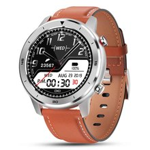 Full Round Touch Display Smart Watch IP68 Waterproof Heart Rate Blood Pressure Monitor 5 Days Standby Fitness Tracker Smartwatch colmi t3 sport hybrid smart watch standby 15 days stainless steel fitness activity tracker ip68 waterproof brim smartwatch men