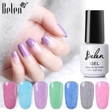 Belen Bulu Imitasi Gel Nail Polish Rendam Off Nail Art UV Varnish LED Tahan Lama Lacquer Nail Art Design pernis Gelpolish(China)