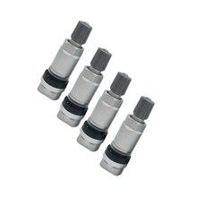 4PCS TPMS Tyre Tire Pressure Sensor Valve For Peugeot 407 valve caps For Mazda High quality valve stem