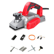 Power Electric Wood Planer Household Multifunctional HandHeld Copper Wire Wood Electric Planer Cutting board Woodworking Tool цена и фото