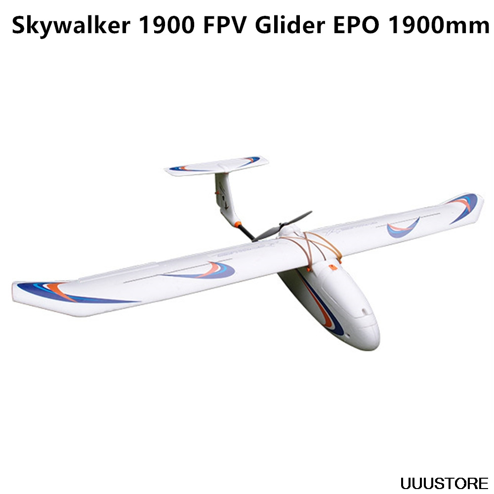 Skywalker 1900 carbon fiber tail version Glider white EPO 1900mm FPV Airplane RC Plane image