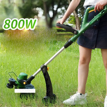 GT-320 Electric Lawn Mower Grass Cutter Grass Trimmer 11000rpm Lawn Weed Whackers Cutting Machine 840W Cropper Garden Tool 220V(China)