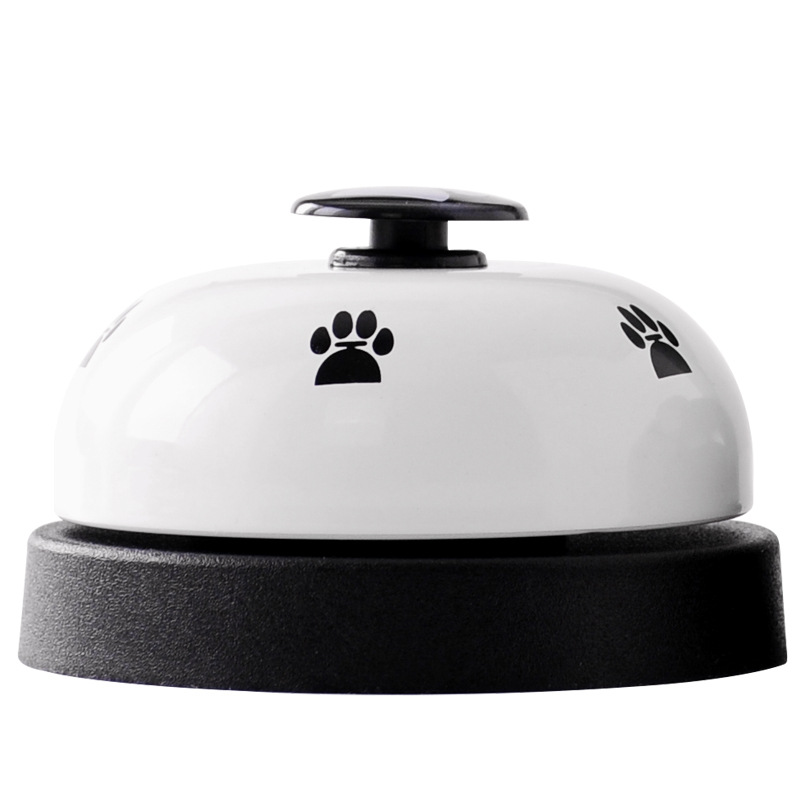 Pet Training Supplies Dog Training Bells Cat Dog Toys Colorful Stainless Dining Bell Puppy  Training Equipment Device-3