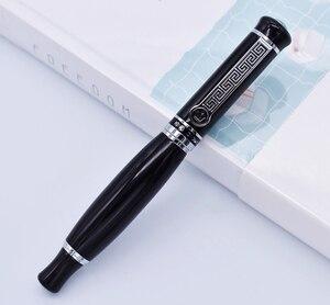 Image 5 - Duke 558 caneta fonte vívida preto grande estilo único, iridium médio nib 0.7mm escrita caneta negócio, escritório, casa suprimentos