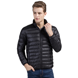Image 2 - Brother Wang Brand Winter New MensDown Jacket Casual White Duck Down Light Down Men  Warm Coat male men clothes 2020