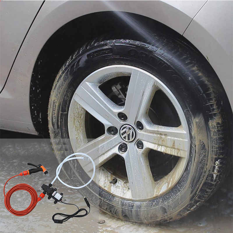 Wasstraat 12V Auto Wasmachine Pistool Pomp Hogedrukreiniger Car Care Draagbare Wasmachine Elektrische Cleaning Auto Apparaat