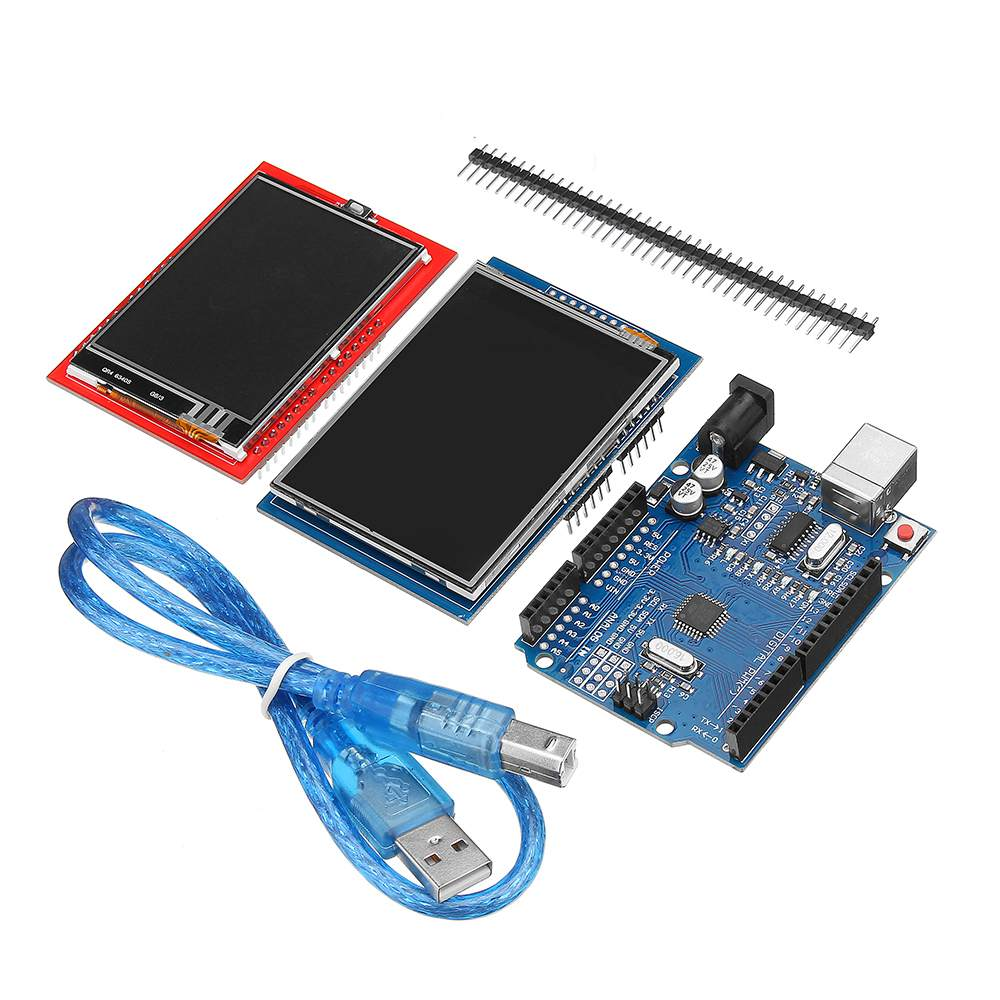 Improved Version 2.8TFT LCD Touch Screen 2.4TFT Touch Screen Display Module Kit For Arduino UNO R3