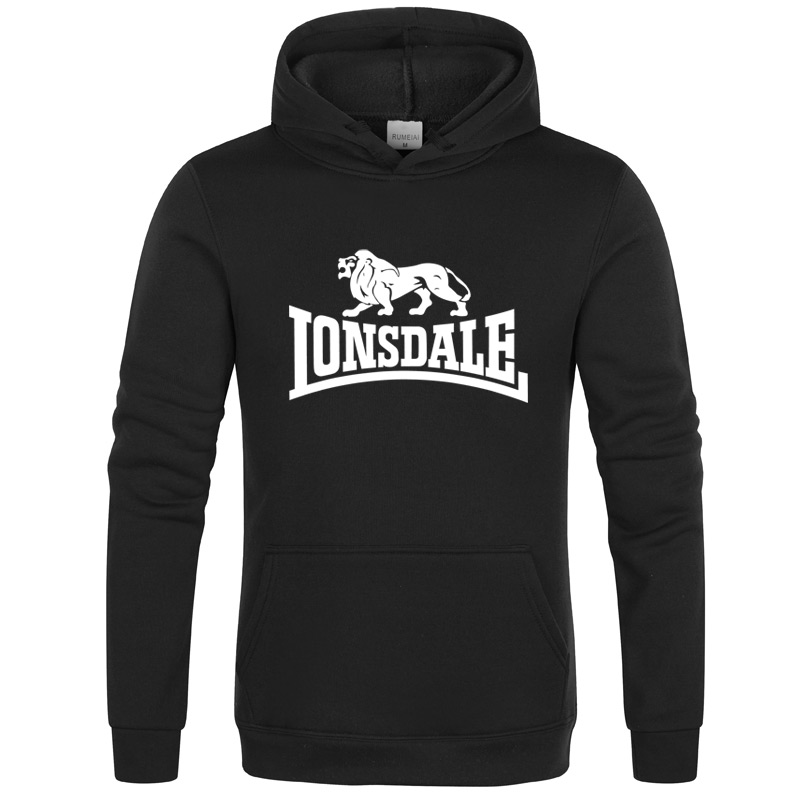 2020Autumn Winter Sweatshirts Hot Sale Fashion Lonsdale Mens Hoodies Warm Funny Pullovers Casual Hip Hop Hoody New Men Tracksuit
