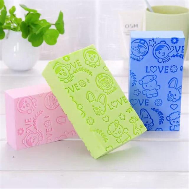 Soft Body Scrubber Bath Exfoliating Sponge Shower Brush Skin Cleaner Cleaning Sponge Pad Body Dead Skin Remover Bathing Supplies 4