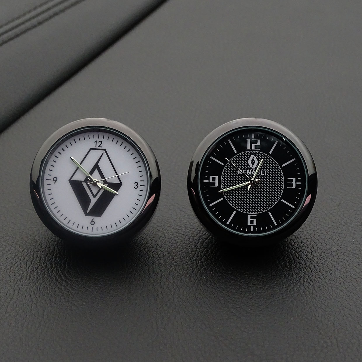 Car decoration clock watch modified car interior electronic quartz watch For Renault Megane2 3 Duster Logan Clio Laguna 2 Captur