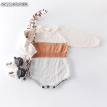 Baby Boy Romper Knitted Baby Clothes Aut
