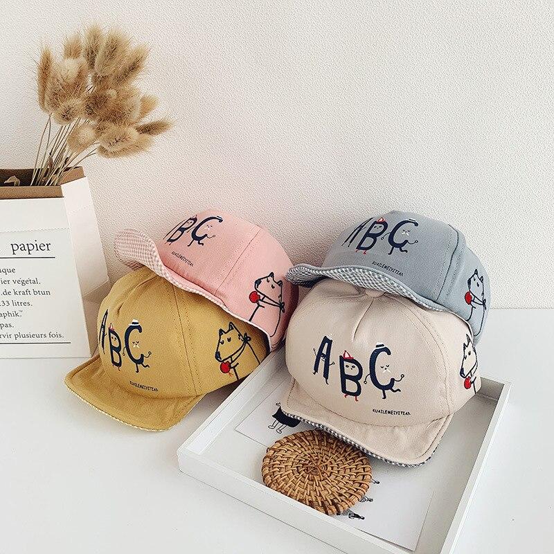 Cute Boy//Girls Kids Baby Hiphop Baseball Sun Cap Hat Snapback Adjustable Sunhat