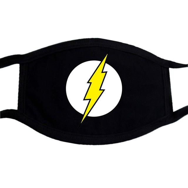 Cartoon Lovely Mask Fack Mouth Washable Respirato Black Dust Masks Reusable Mouth Muffle Warm Hip Hop Mask Kpop Respirator