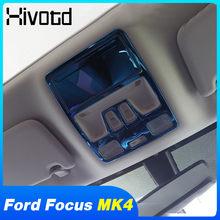 Voor Ford Focus Bussiness MK4 2019-2020 Accessoires Achter Leeslamp Frame Versieringen Cover Dak Stickers Interieur Panel