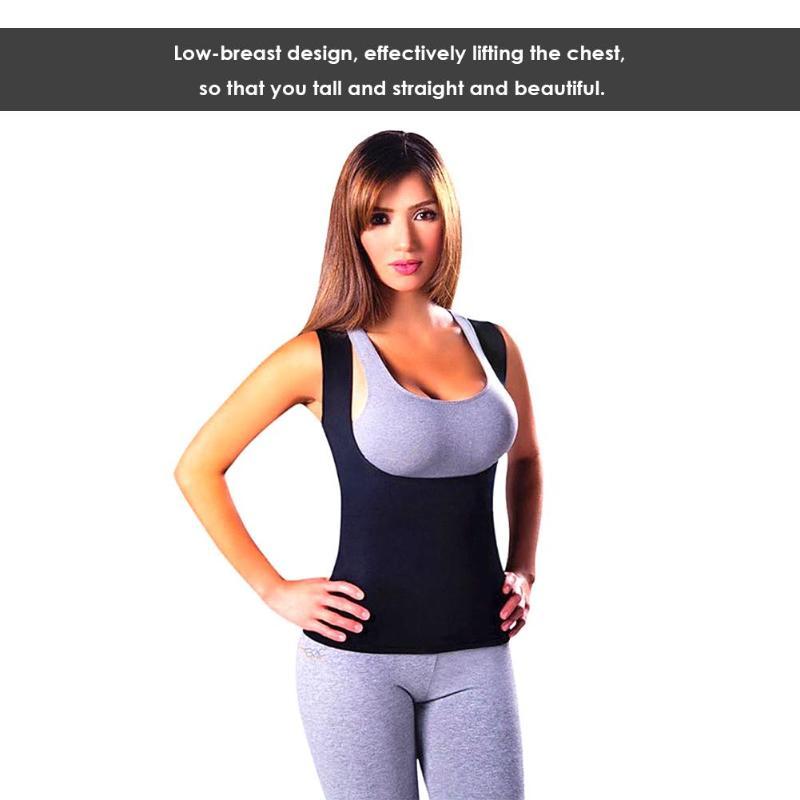 running - Women Neoprene Shapers Slimming Fitness Body Shapewear Tank Corset Vest