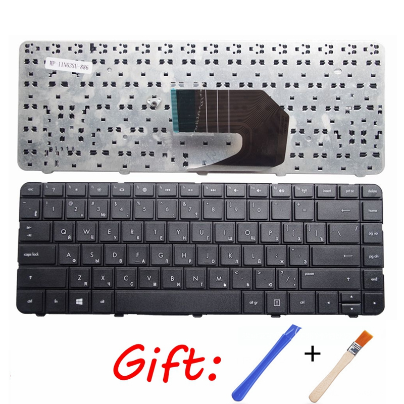 New Russian Keyboard FOR HP CQ45 431 435 436 450 455 650 655 630 631 1000 2000 CQ430 CQ431 CQ635 RU Laptop Keyboard