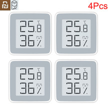 Youpin MiaoMiaoCe شاشة حبر رقمية ، مقياس رطوبة عالي الدقة ، مستشعر درجة الحرارة والرطوبة