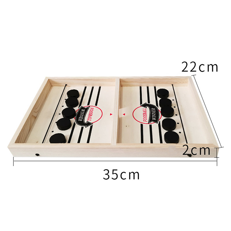 Купить с кэшбэком Bounce Chess Ruffle Ball Desktop Hockey Toy Foosball Winner Board Game Bounce Chess Eject Chess Parent-Child Interactive Chess