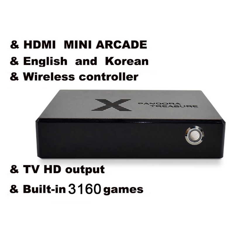 Mini Arcade 3D Video Game Console Moonlight Treasure Game Wireless Controller Built-in 3100 2D and 60 3D Games US Plug