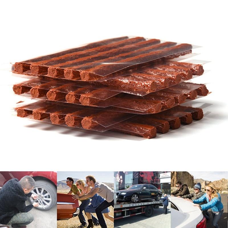 5 шт./компл. вакуумными шинами ремонтная полоса 100 мм х 6 мм для ремонта шин из говяжьих сухожилий; Автомобиль Мотоцикл быстрый инструмент для