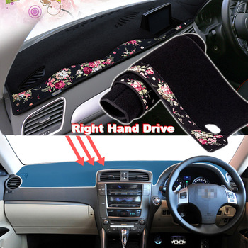 Tommia China decorative pattern Car Dashmat Dashboard Mat Non-slip Dash Board Pad Cover for LEXUS IS250 IS300H IS350D 2005