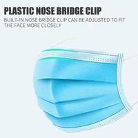 Gesicht Maske Schutz Liefert Sport Mund Mund Maske Maske Mode Atmungs Blau Wandern Übungen 50 stücke-in Fahrradgesichtsmaske aus Sport und Unterhaltung bei
